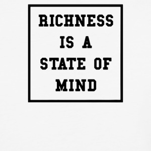 Richness Is A State Of Mind - Baseball T-Shirt