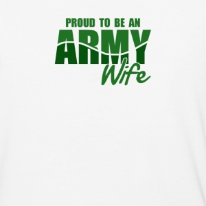 Proud To Be An Army Wife - Baseball T-Shirt