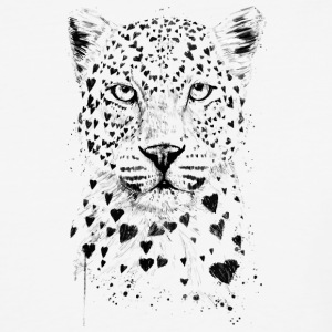 Lovely Leopard - Baseball T-Shirt