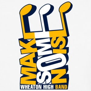 Wheaton High Band - Baseball T-Shirt