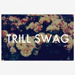 dope trill swag - Baseball T-Shirt