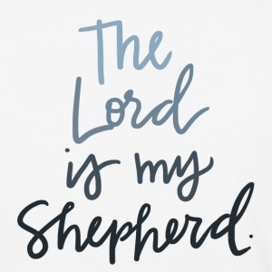 The Lord Is My Shepherd - Baseball T-Shirt