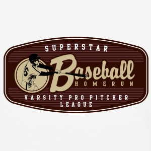 SUPERSTAR BASEBALL HOMERUN - Baseball T-Shirt