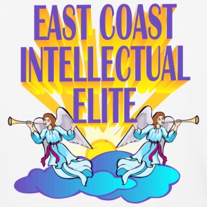 EAST COAST INTELLECTUAL ELITE - Baseball T-Shirt