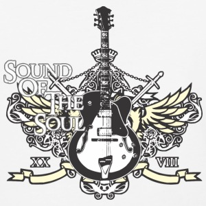 Rock is sound of the soul - Baseball T-Shirt