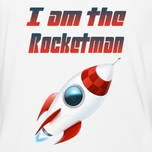 I am the Rocketman - Baseball T-Shirt