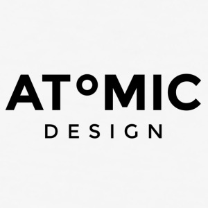 Atomic Design Brand Logo - Baseball T-Shirt
