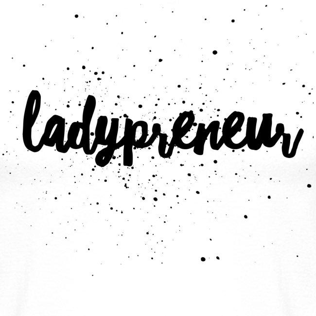Ladypreneur Black Splatter