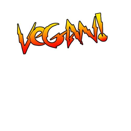 Rowdy Vegan - Unisex Baseball T-Shirt