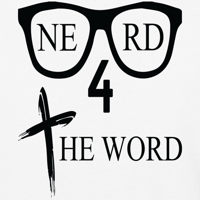 Nerd 4 The Word Design png