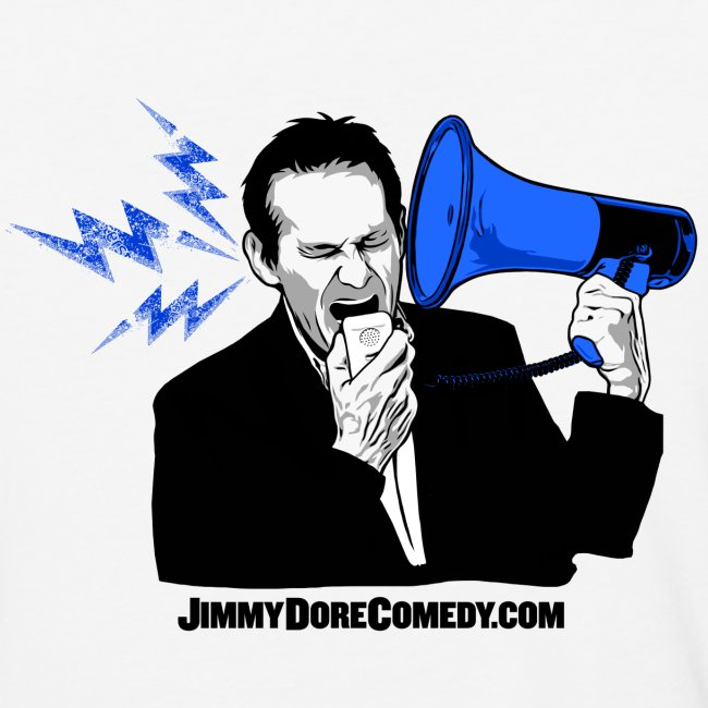 the jimmy dore show blue and black jd logo unisex baseball t shirt spreadshirt