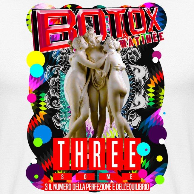 botox matinee threesome t-shirt