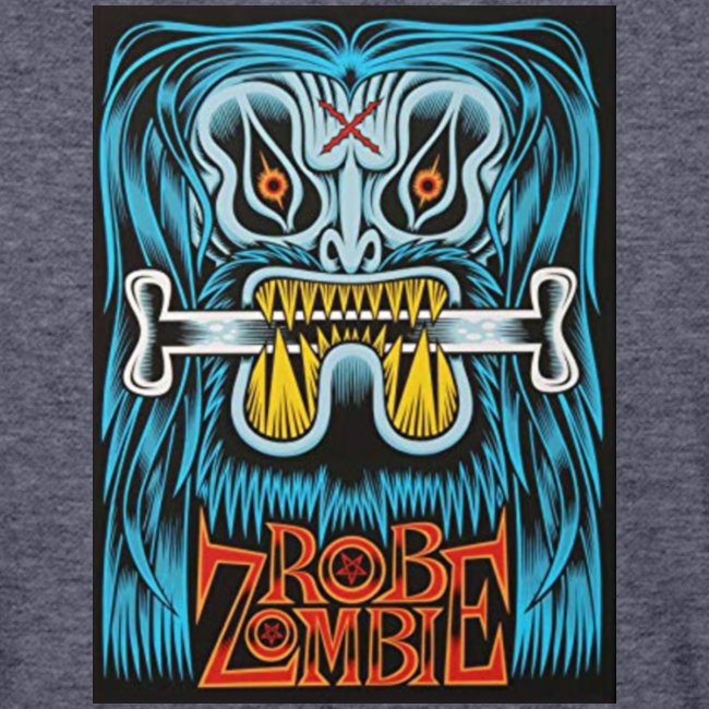 White ZOMBIE limited art print devils rejects