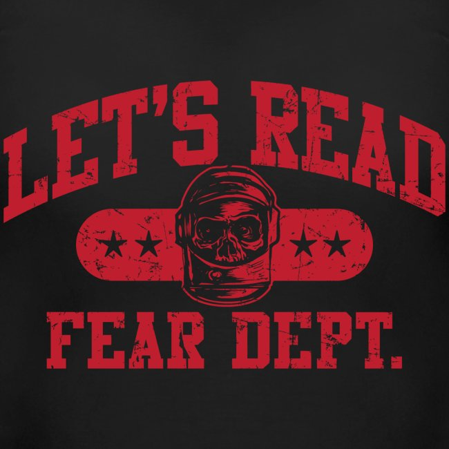 Fear Dept - Athletic Red - Inverted