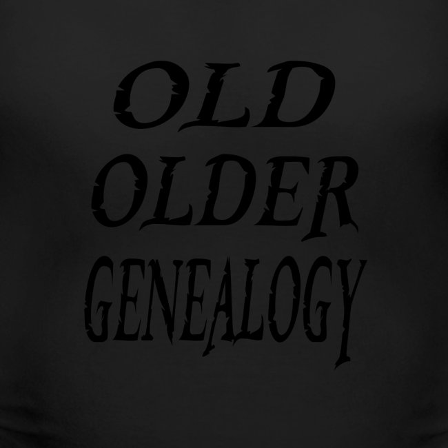 Old older genealogy family tree funny gift