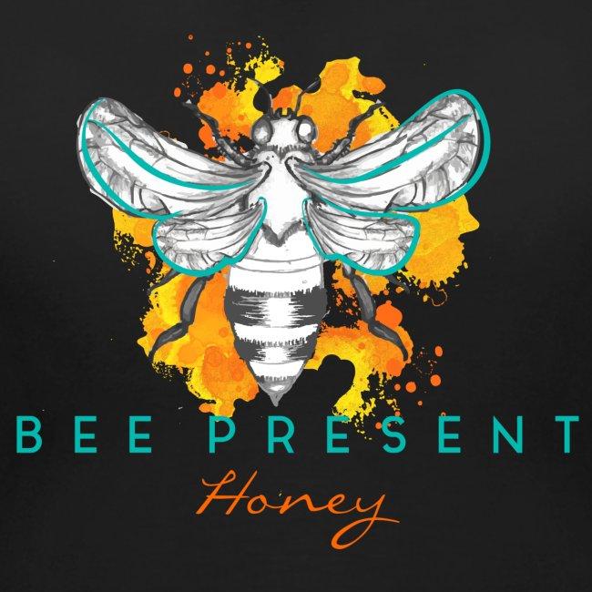 Bee Present Honey Tee