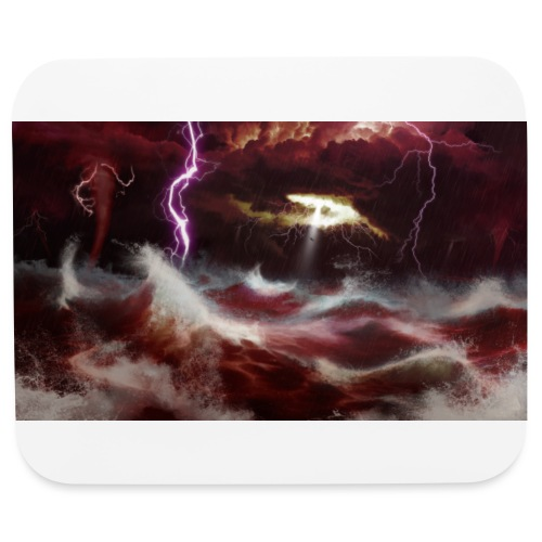 Blood Storm - Mouse pad Horizontal
