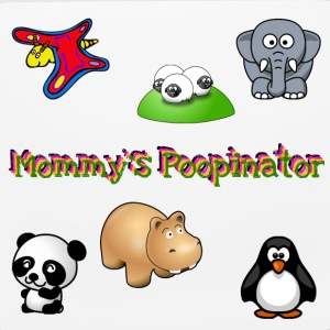 Mommy's Poopinator - Mouse pad Horizontal
