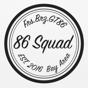 86 Squad Badge - Mouse pad Horizontal