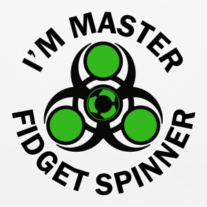 i am master fidget spinner - Mouse pad Horizontal