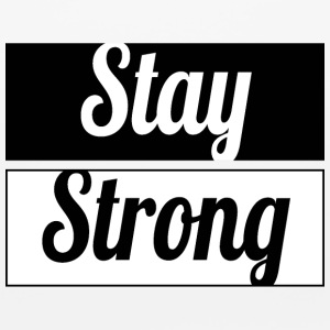 Stay Strong - Mouse pad Horizontal
