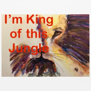 SS KING OF JUNGLE - Mouse pad Horizontal