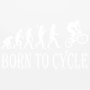 Born To Cycle Evolution - Mouse pad Horizontal