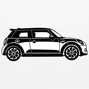 New Mini Cooper - Side View - Mouse pad Horizontal