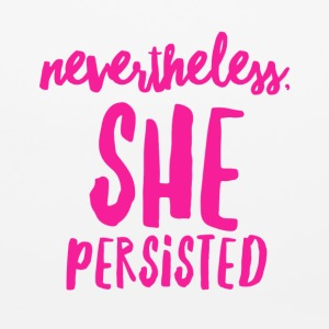 Nevertheless, She Persisted - Mouse pad Horizontal