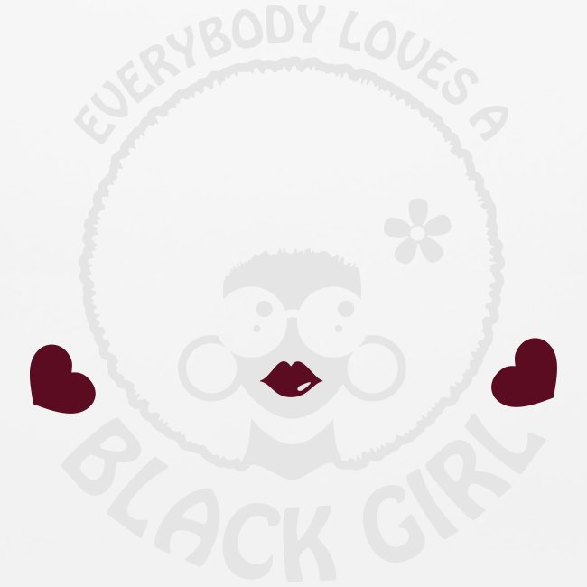 Everybody Loves A Black Girl - Version 3 Reverse