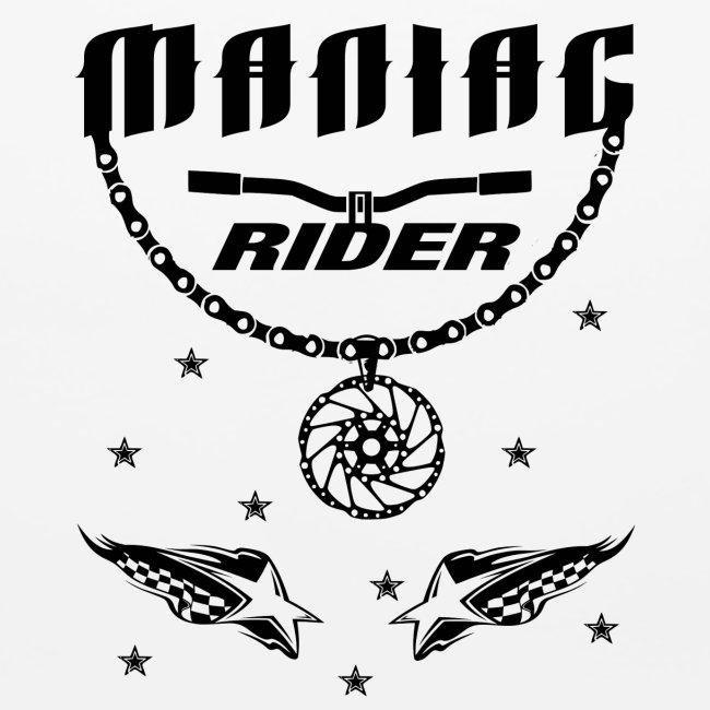 Maniac Rider Downhill Mountainbike bike-rider