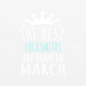 Best LOCKSMITHS are born in march - Mouse pad Horizontal