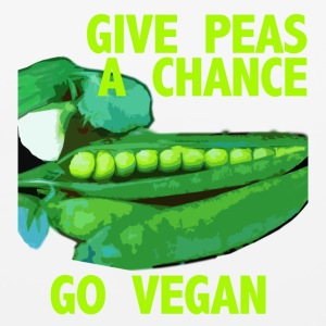 GIVE PEAS A CHANCE - Mouse pad Horizontal