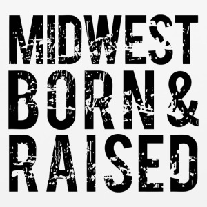 Midwest Born and Rasied - Mouse pad Horizontal