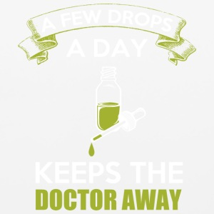 A Few Drops A Day Keeps The Doctor Away T Shirt - Mouse pad Horizontal