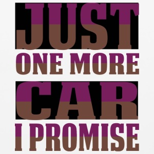 Just One More Car I Promise T Shirt - Mouse pad Horizontal