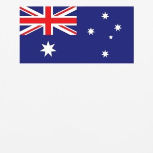 Flag of Australia Cool Australian Flag - Mouse pad Horizontal