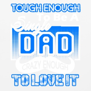 Tough Enough To Be A Single Dad Tee Shirt - Mouse pad Horizontal