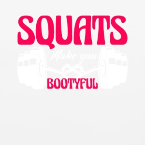 Squats Make You Bootyful Shirt - Mouse pad Horizontal