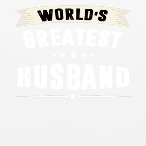 World s Greatest HUSBAND T-shirt - Mouse pad Horizontal