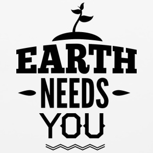 EARTH_NEED_YOU - Mouse pad Horizontal