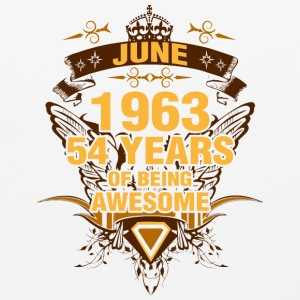 June 1963 54 Years of Being Awesome - Mouse pad Horizontal