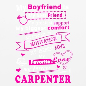 My forever Carpenter T-Shirts - Mouse pad Horizontal