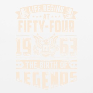 Life Begins At Fifty Four Tshirt - Mouse pad Horizontal