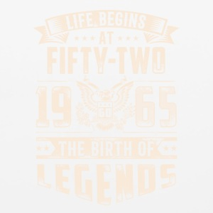 Life Begins At Fifty Two Tshirt - Mouse pad Horizontal