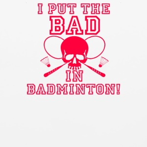 Bad In Badminton - Mouse pad Horizontal