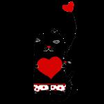 Cats w Hearts -Kristina S