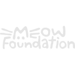 MEOW Foundation - White Logo