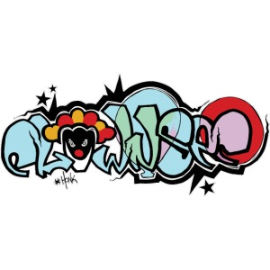 Graffiti Clownsec Dark Shirt PREMIUM