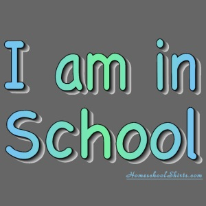 I Am In School B/G
